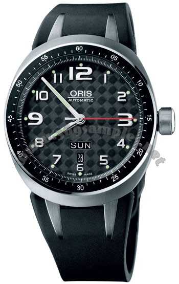 Oris TT3 Day Date Mens Wristwatch 635.7588.70.64.RS