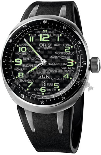 Oris TT3 Day Date Mens Wristwatch 635.7589.70.84.RS