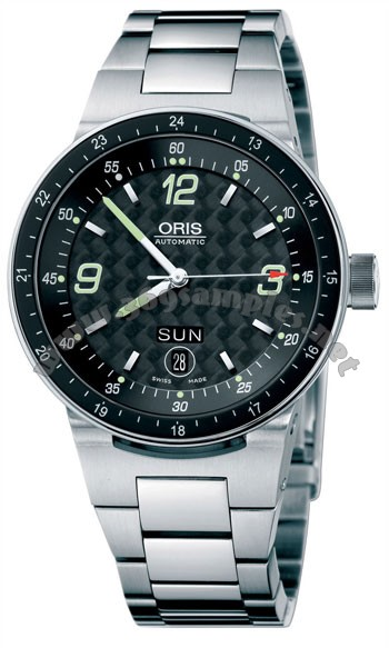 Oris WilliamsF1 Team Day Date Mens Wristwatch 635.7595.41.64.MB