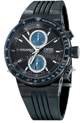 Oris WilliamsF1 Team Chronograph Mens Wristwatch 673.7563.47.54.RS