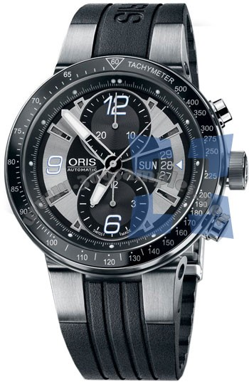 Oris WilliamsF1 Team Chronograph Date Mens Wristwatch 679.7614.41.74.RS