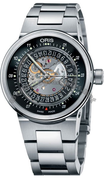Oris TT2 WilliamsF1 Team Skeleton Engine Mens Wristwatch 733.7560.41.14.MB