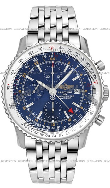Breitling Navitimer World Mens Wristwatch A2432212.C561-SS