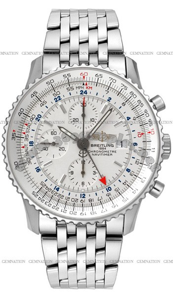 Breitling Navitimer World Mens Wristwatch A2432212.G571-SS