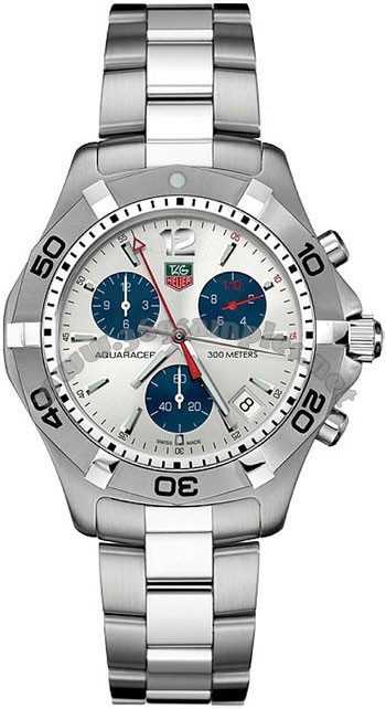 Tag Heuer Aquaracer Quartz Mens Wristwatch CAF1111.BA0803