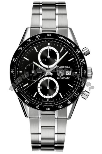 Tag Heuer Carrera Automatic Chronograph Mens Wristwatch CV2010.BA0786