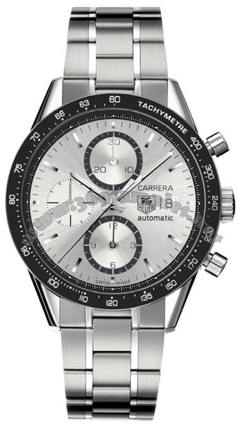 Tag Heuer Carrera Automatic Chronograph Mens Wristwatch CV2011.BA0786