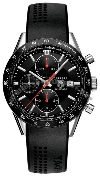 Tag Heuer Carrera Automatic Chronograph Mens Wristwatch CV2014.FT6014