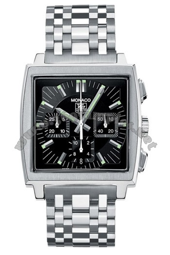 Tag Heuer Monaco Automatic Mens Wristwatch CW2111.BA0780