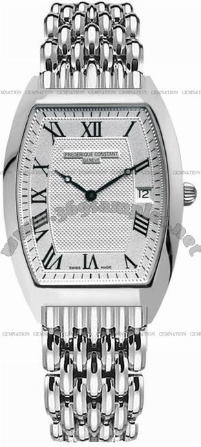 Frederique Constant Art Deco Quartz Mens Wristwatch FC-220MC4T26B