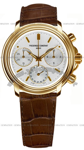 Frederique Constant Index Chronograph Mens Wristwatch FC-290V3A5