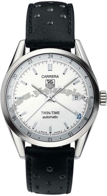 Tag Heuer Carrera Twin Time Mens Wristwatch WV2116.FC6182