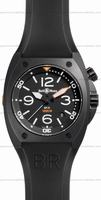 Replica Bell & Ross BR 02-92 Carbon Mens Wristwatch BR02-CA-FINISH