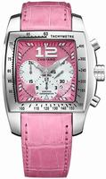 Replica Chopard Two O Ten XL Ladies Wristwatch 168961-3001-PINK