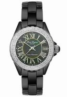 Replica SWISS LEGEND Karamica/Diamond Ladies Wristwatch 20050-BLK-ROM
