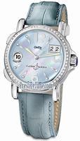 Replica Ulysse Nardin GMT Big Date 37mm Ladies Wristwatch 223-28B/693