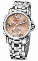 Replica Ulysse Nardin GMT Big Date 37mm Ladies Wristwatch 243-22-7/30-09