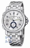 Replica Ulysse Nardin Dual Time 42 mm Mens Wristwatch 243-55-7-91