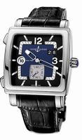 Replica Ulysse Nardin Quadrato Dual Time Mens Wristwatch 243-92-632