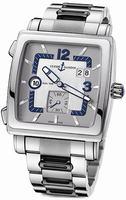 Replica Ulysse Nardin Quadrato Dual Time Mens Wristwatch 243-92-7/601