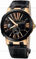 Replica Ulysse Nardin Executive Dual Time Mens Wristwatch 246-00-42