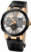 Replica Ulysse Nardin Executive Dual Time 43mm Mens Wristwatch 246-00/421