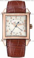 Replica Girard-Perregaux Vintage 1945 Triple Calendar Mens Wristwatch 25810-52-151-BACA