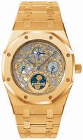 Replica Audemars Piguet Royal Oak Perpetual Calendar Skeleton Mens Wristwatch 25829OR.OO.0944OR.01