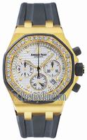 Replica Audemars Piguet Royal Oak Offshore Chronograph Lady Wristwatch 25986AK.ZZ.D003CA.02