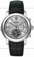 Replica Audemars Piguet Jules Audemars Tourbillon Chronograph Mens Wristwatch 26050PT.OO.D002CR.01