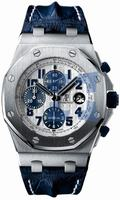 Replica Audemars Piguet Royal Oak Offshore Chronograph Special Editions Mens Wristwatch NAVY 26170ST.OO.D305CR.01