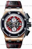 Replica Audemars Piguet Royal Oak Offshore Rubens Barrichello Chronograph III Mens Wristwatch 26284RO.OO.D002CR.01