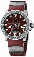 Replica Ulysse Nardin Maxi Marine Diver Mens Wristwatch 263-33-3.95