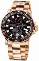 Replica Ulysse Nardin Maxi Marine Diver Black Surf Mens Wristwatch 266-37LE-8M