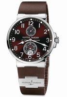 Replica Ulysse Nardin Maxi Marine Chronometer Mens Wristwatch 263-66-3-625