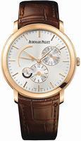 Replica Audemars Piguet Jules Audemars Dual Time Mens Wristwatch 26380OR.OO.D088CR.01