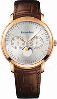 Replica Audemars Piguet Jules Audemars Moon Phase Calendar Mens Wristwatch 26385OR.OO.A088CR.01