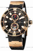 Replica Ulysse Nardin Maxi Marine Diver Titanium Mens Wristwatch 265-90-3-92