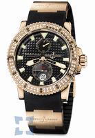 Replica Ulysse Nardin Maxi Marine Diver Mens Wristwatch 266-34-3A-92