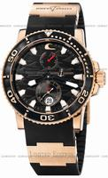 Replica Ulysse Nardin Black Surf Limited Edition Mens Wristwatch 266-37-LE.3A