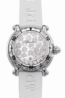 Replica Chopard Happy Sport Snowflake Ladies Wristwatch 27.8949