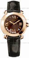 Replica Chopard Happy Sport Round Ladies Wristwatch 277471-5012