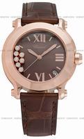 Replica Chopard Happy Sport Round Ladies Wristwatch 277471-5012BR