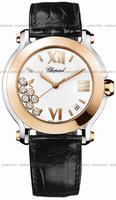Replica Chopard Happy Sport Round Ladies Wristwatch 278492-9001