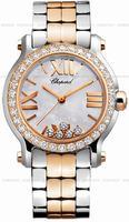 Replica Chopard Happy Sport Round Ladies Wristwatch 278509-6005