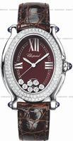 Replica Chopard Happy Sport Oval Ladies Wristwatch 278953-2004