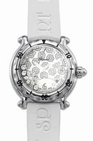 Replica Chopard Happy Sport Snowflake Ladies Wristwatch 28.8948
