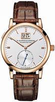 Replica A Lange & Sohne Saxonia Automatik Mens Wristwatch 315.032