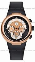 Replica Philip Stein Teslar Active Chronograph Unisex Wristwatch 32-ARG-RBB