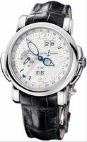 Replica Ulysse Nardin GMT +/- Perpetual 42mm Mens Wristwatch 320-60/60
